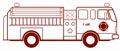 Feuerwehrauto Malvorlage
