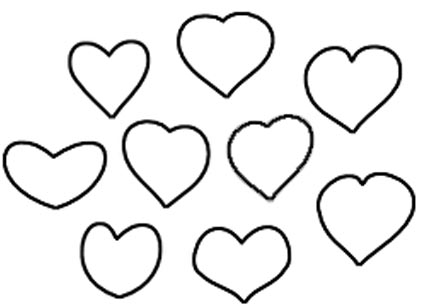 Herzen Ausmalbilder