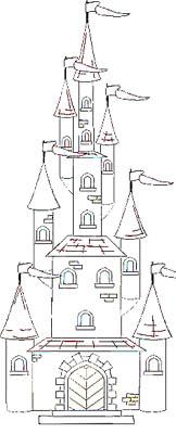 Schloss Malvorlage