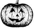 Halloween K�rbis Malvorlage