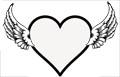 Herz mit Fl�geln