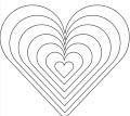 Herzen Ineinander Malvorlage