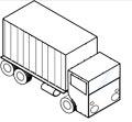 Lastwagen Malvorlage