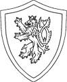 Ritter Schild Malvorlage