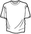 T-Shirt Malvorlage
