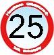 Herzlichen Glückwunsch zum 25. Geburtstag