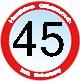 Geburtstagsgrüße zum 45ten