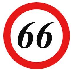 Glückwünsche zum 66.