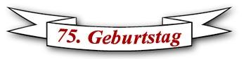 Logo 75 Geburtstag