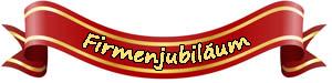 Logo Jubiläum Unternehmen