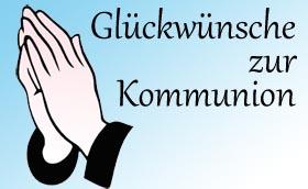 Kommunionsglückwünsche