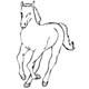 Vorlagen Ausmalen Pferde