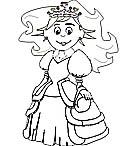 Ausmalbilder Prinzessin